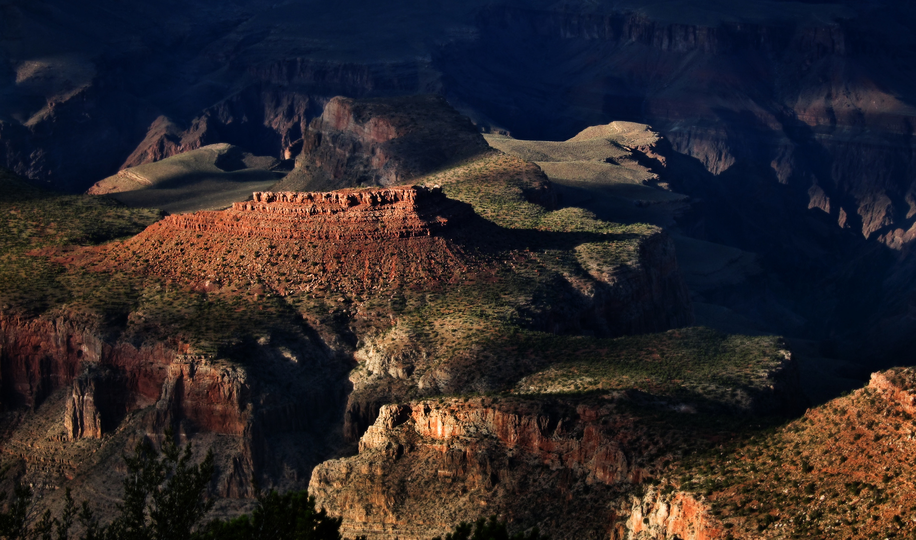 Lightshow am Grand Canyon
