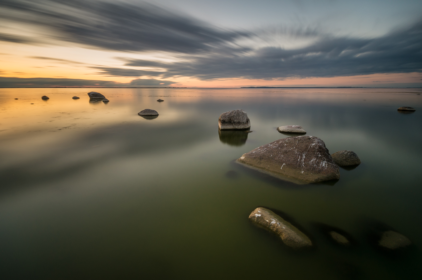 Light,water and stones