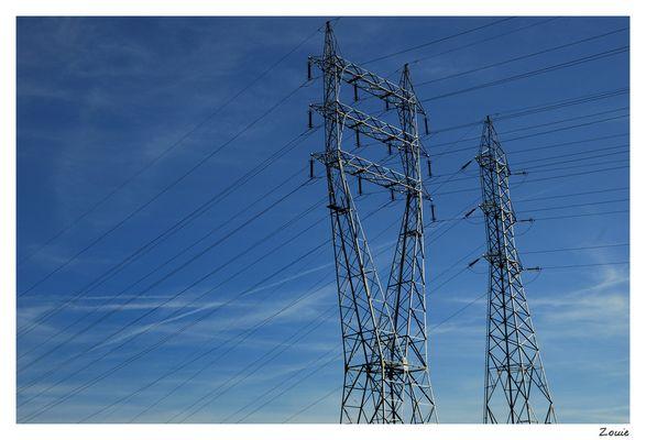 Lignes et pylones