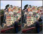 Ligurien: Riomaggiore [3D]