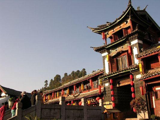 Lijiang - Altstadt