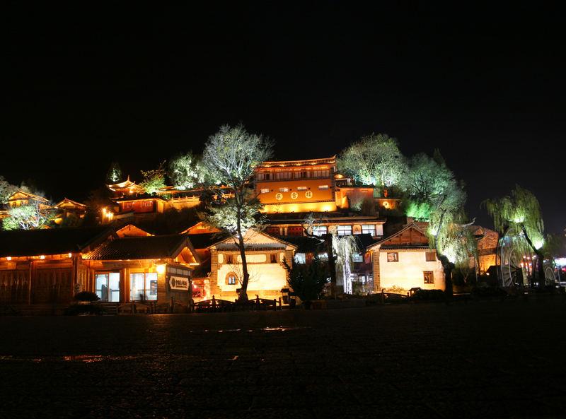 LiJiang bei Nacht