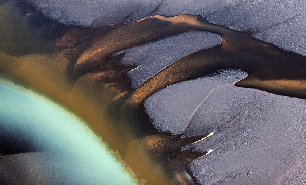 like a painting - Aerials Iceland #1030