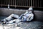 Like a silver man in Berlin