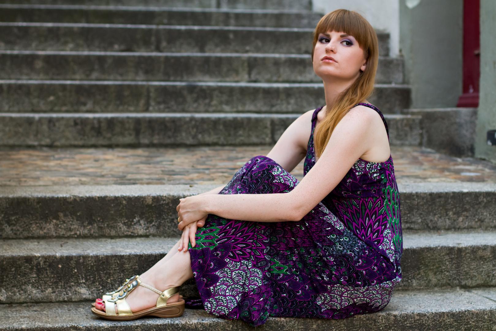 Lila Kleid 1