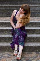 Lila Kleid 2
