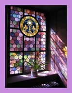 Lila Lichtfenster