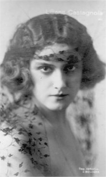 "Liliana Castagnola,soubrette morta suicida per amore del ""Principe"" Antonio De Curtis in arte Totò.."