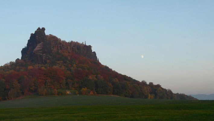 Lilienstein im Elbsandstein bei Waltersdorf
