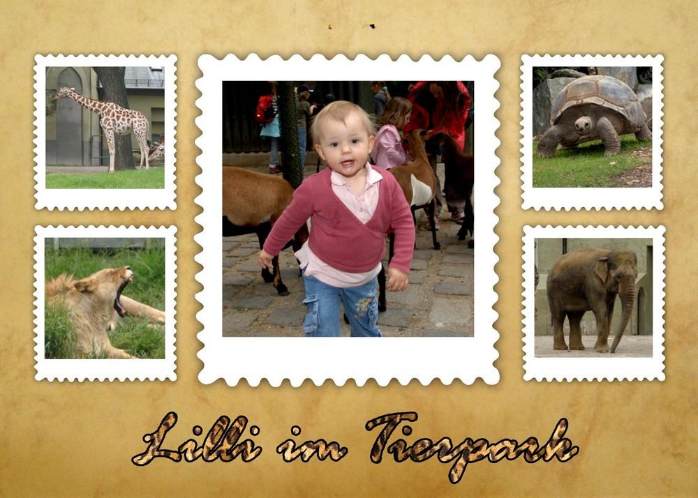 Lilli und dei wilden Tiere