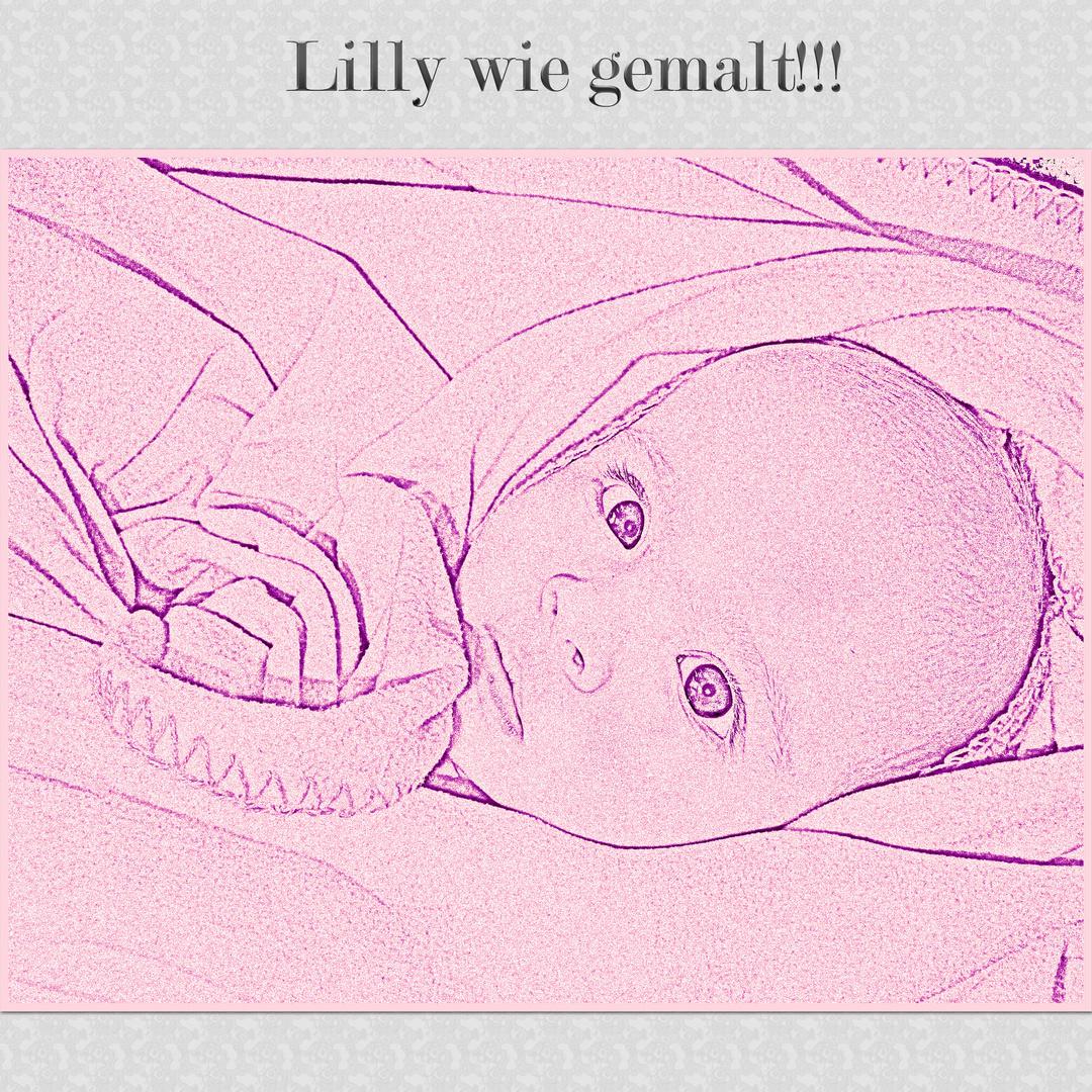 Lilly wie gemalt!!!