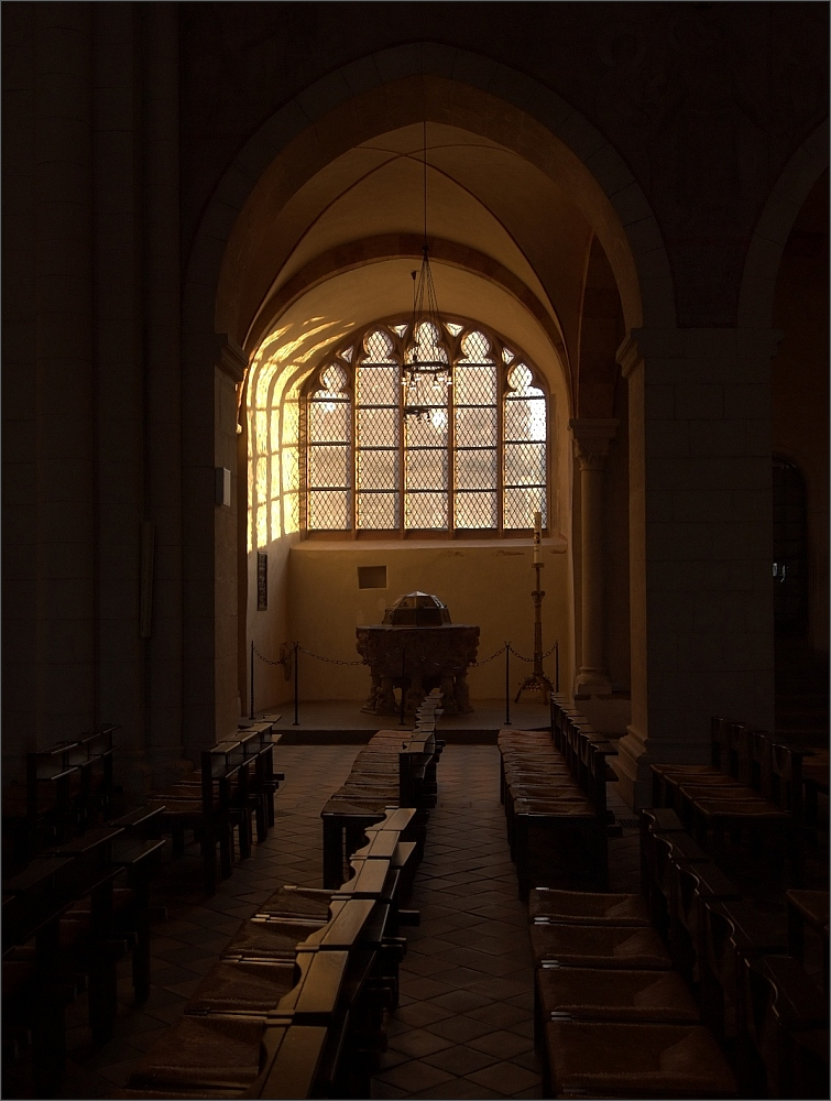 Limburger Dom - Fensterplatz