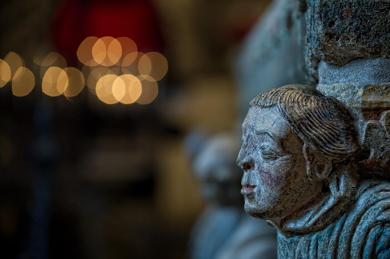 Limburger Dom - Statue