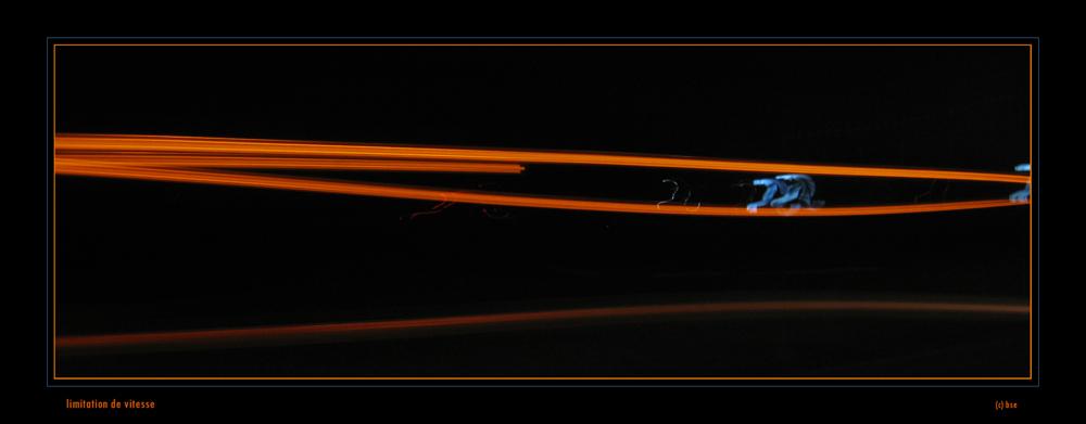 Limitation de vitesse