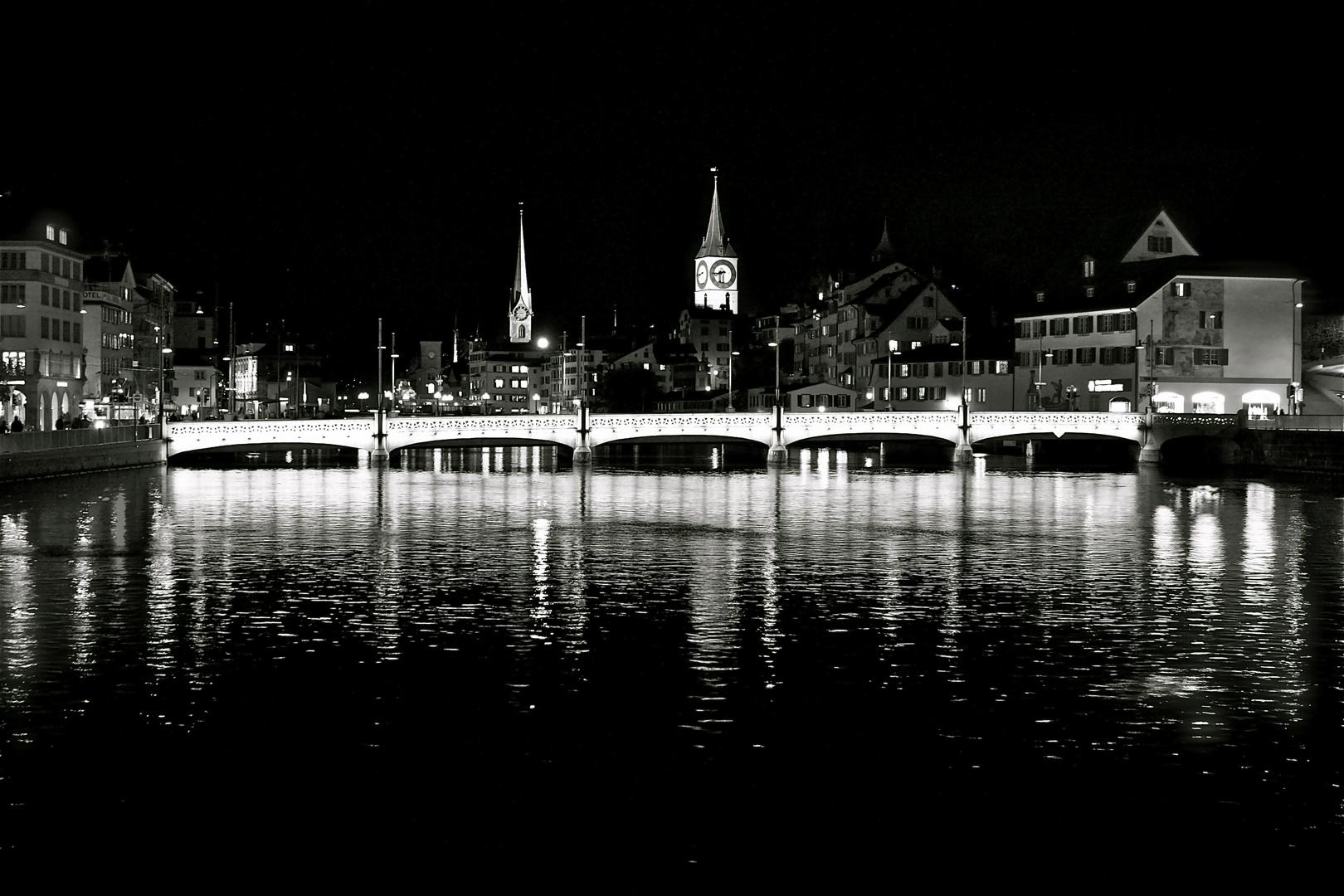 Limmat, Zürich City