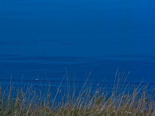 L'immensité de bleu ..!