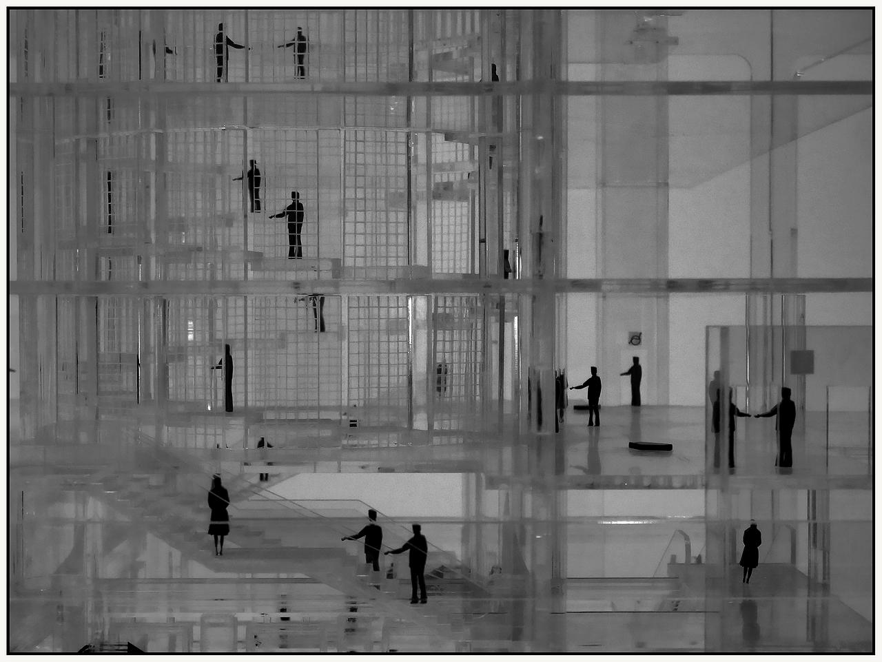 L'immeuble de verre