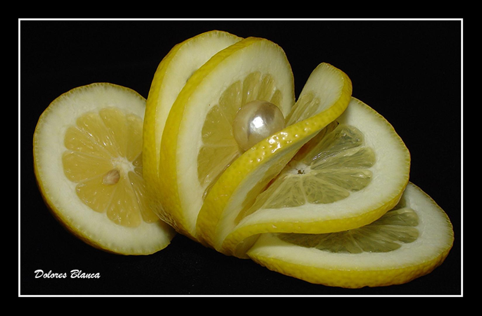 Limón y perla