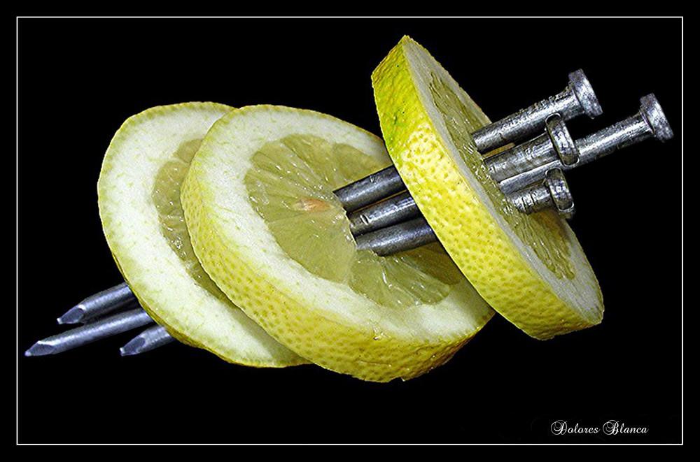 Limón y puntas Dedicada a Bernardo  Braccini