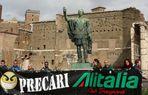 L'imperatore Nerva, solidale con i precari Alitalia...