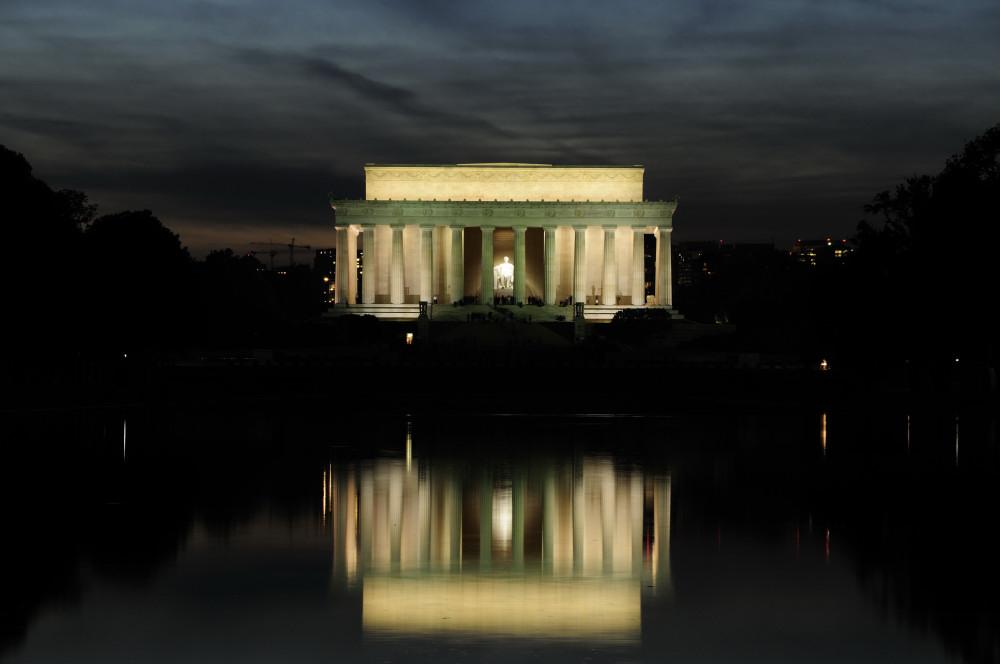 Lincoln Memorial Okt. 2009