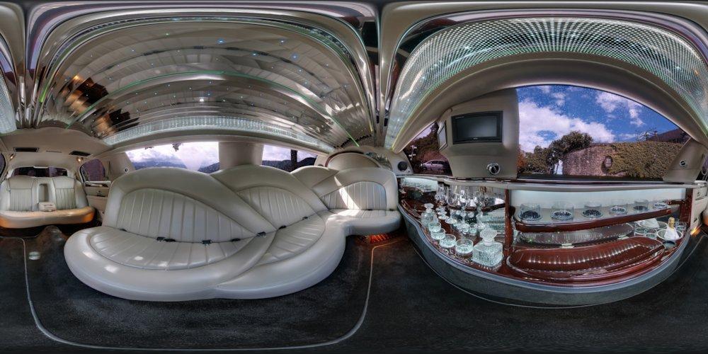 lincoln town car stretchlimousine foto bild panorama techniken aufnahme techniken bilder. Black Bedroom Furniture Sets. Home Design Ideas