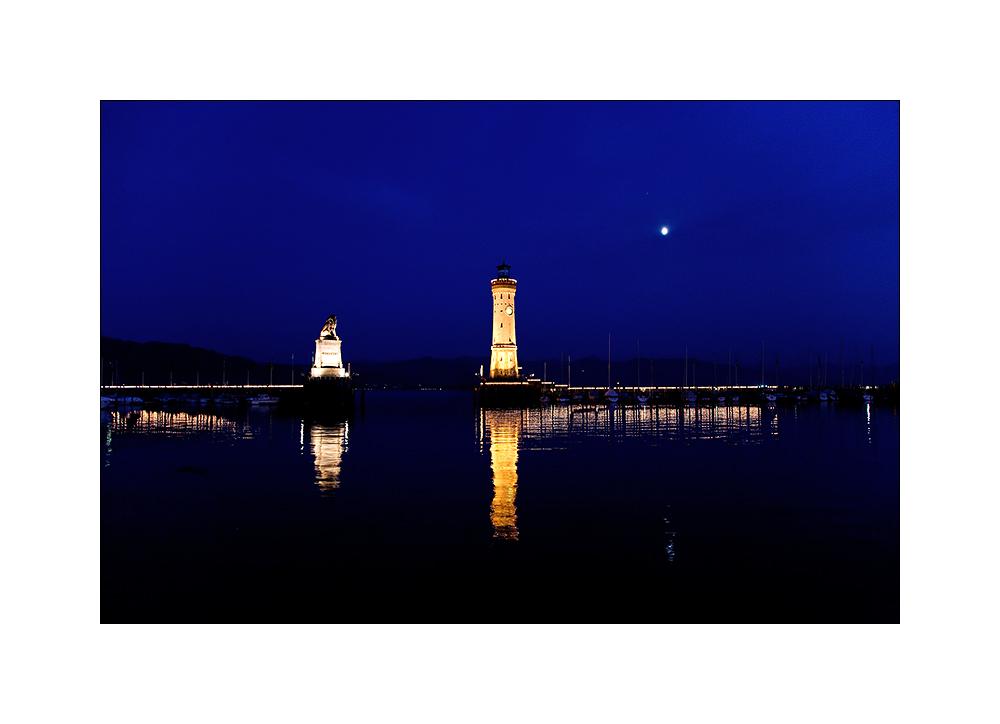 Lindau - Blaue Stunde
