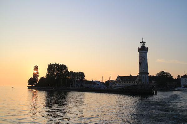 Lindau /Bodensee am Abend