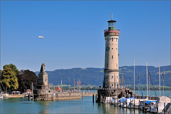 Lindau - Hafeneinfahrt