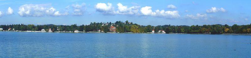 Lindau mit Blick auf das Schwäbische Meer !