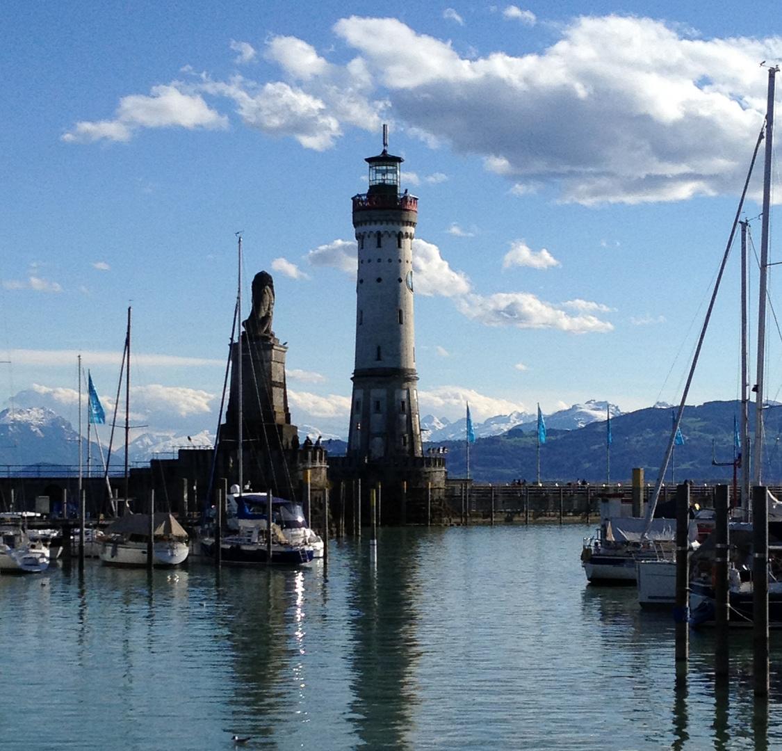 Lindauer Hafeneinfahrt