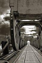 Lindaunisbrücke an der Schlei.