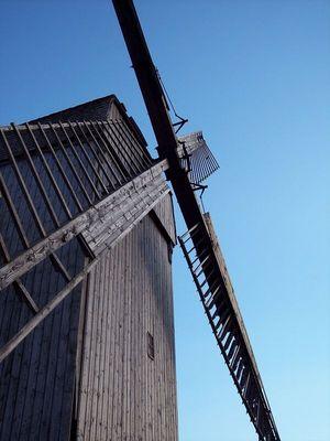 Lindhorster Bockwindmühle Flügel