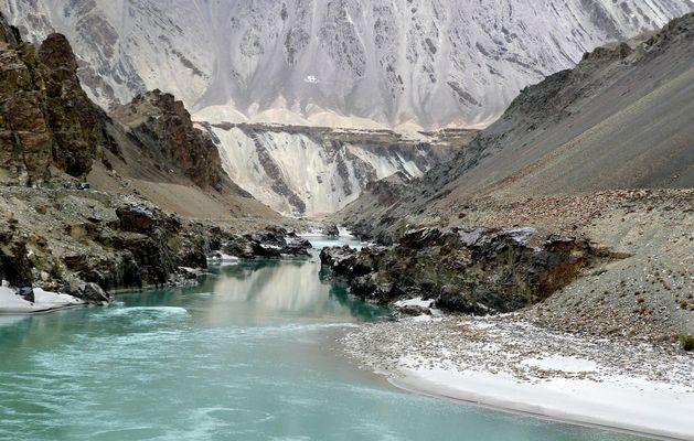 l'Indus dans l'Himalaya Ladack