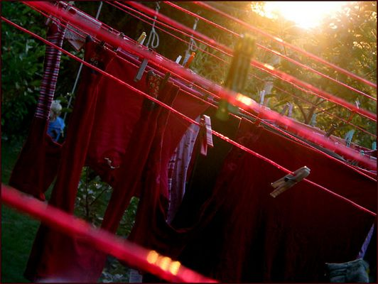 lingerie rouge