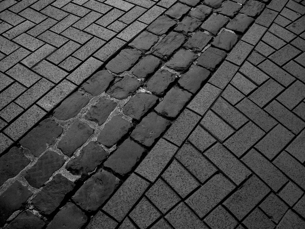 Linien der Strasse