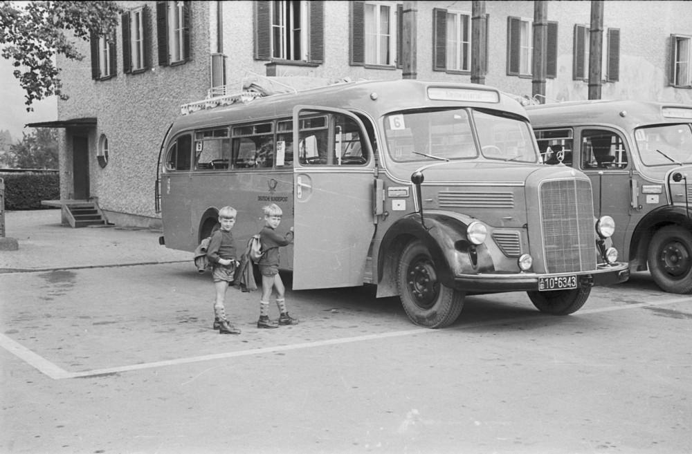 Linienbus der Deutschen Bundespost
