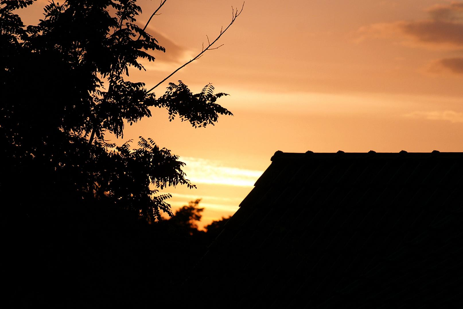 Linstower Sonnenuntergang ... van der Valk Resort _02