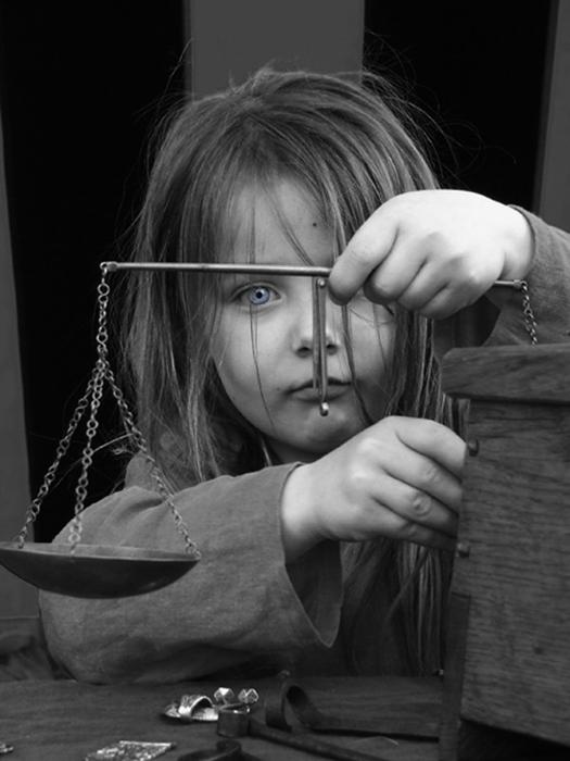 L'intensità di un volto di bambina