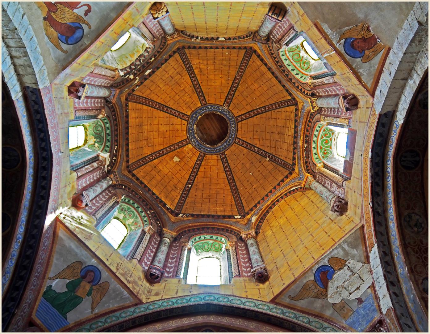 L'intérieur de la tour lanterne