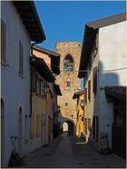 L'intérieur du Château de Moniga del Garda.