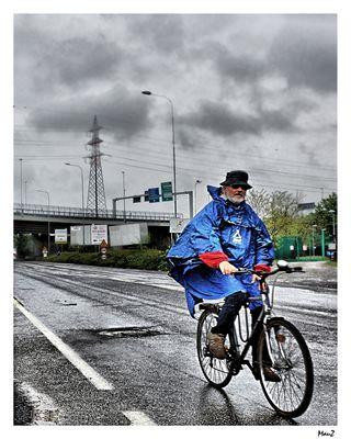 L'intrepido ciclista