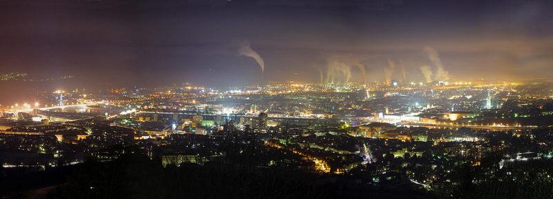 Linz bei Nacht 2