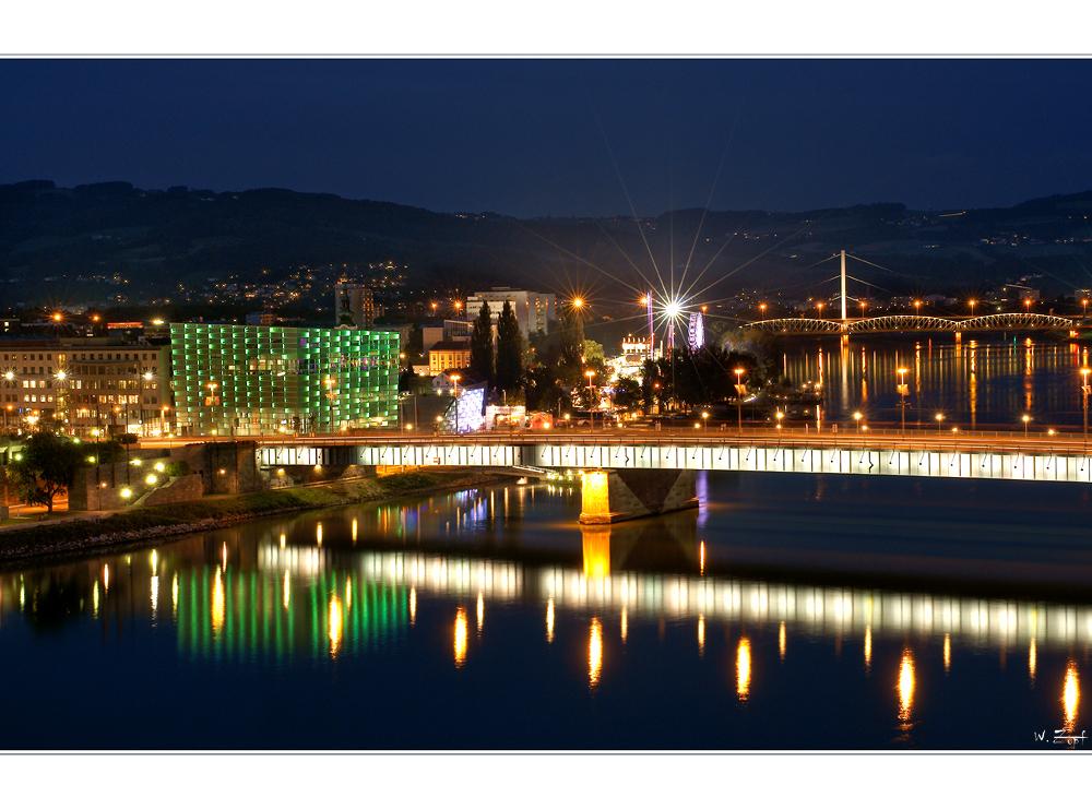 Linz mit Blick Richtung Urfahr