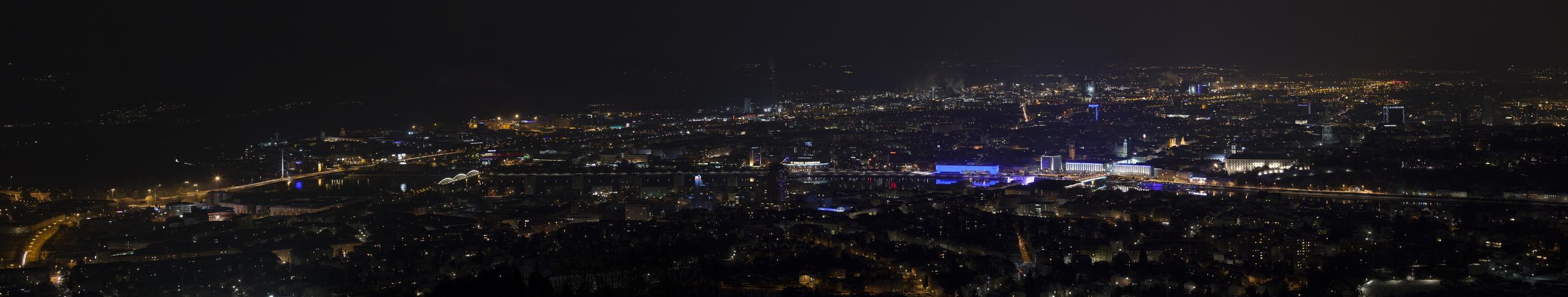 Linz - Nachtpanorama