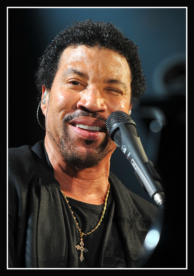 Lionel Richie (USA) live am 23. April 2009 in Leipzig