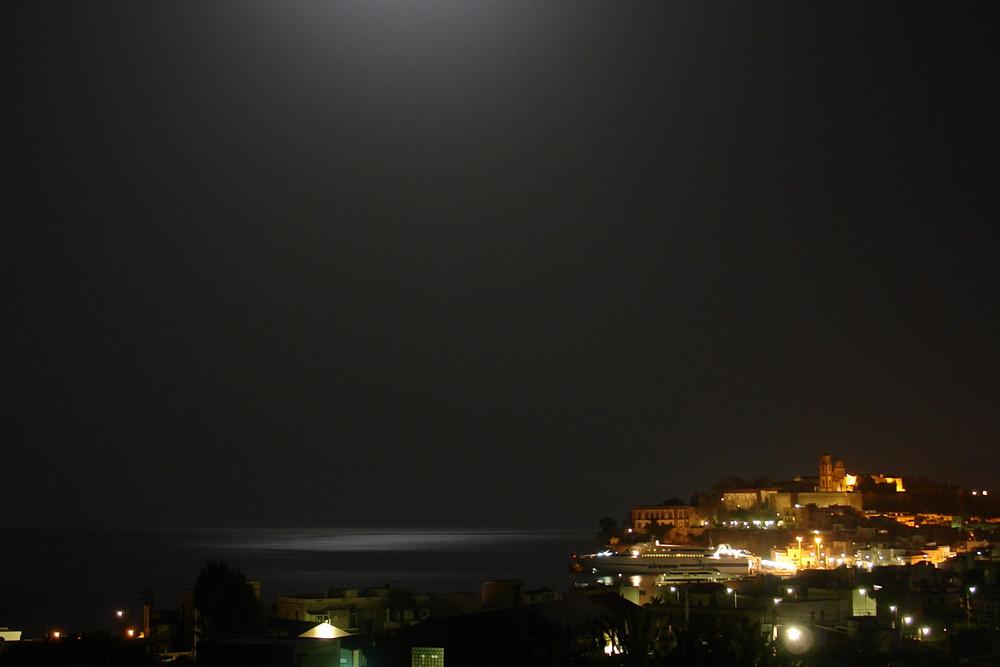 Lipari by night