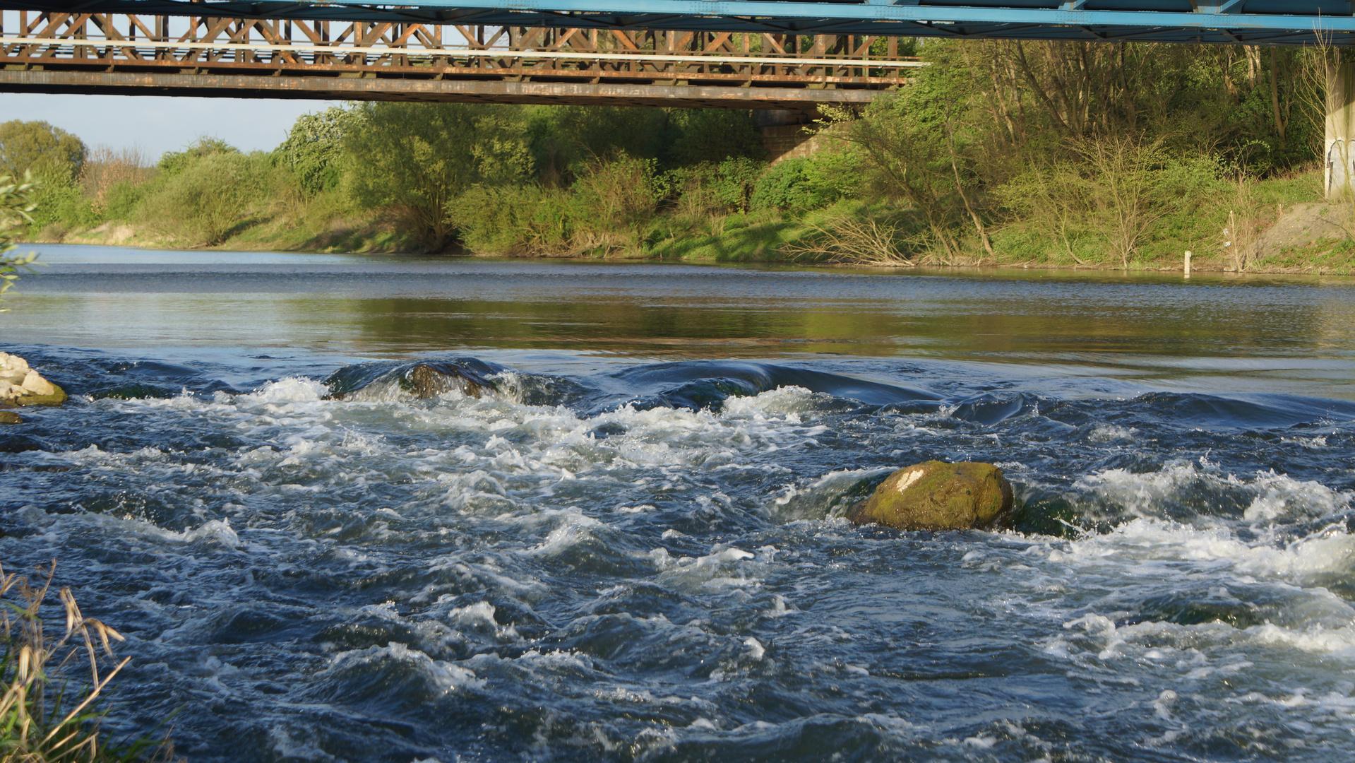 Lippe vor der Rheinmündung