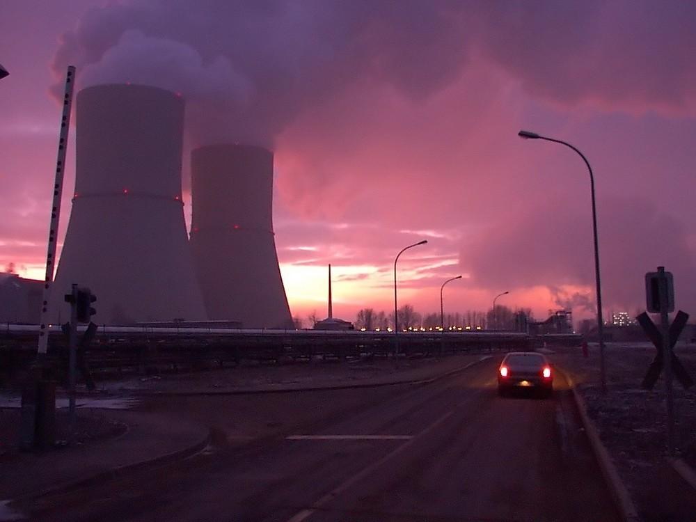 Lippendorf Winter 2001