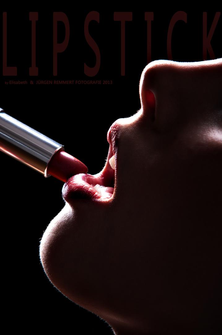 ... lipstick ...